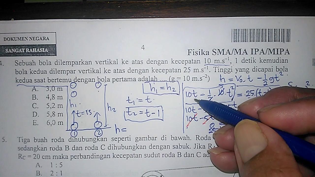 2015 dan sma pembahasannya pdf fisika soal un