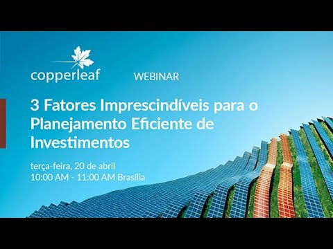 Webinar: 3 fatores imprescindíveis para o planejamento eficiente de investimentos
