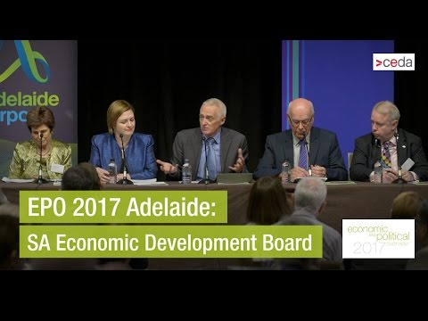 SA Economic Development Board panel discussion - EPO 2017 Adelaide