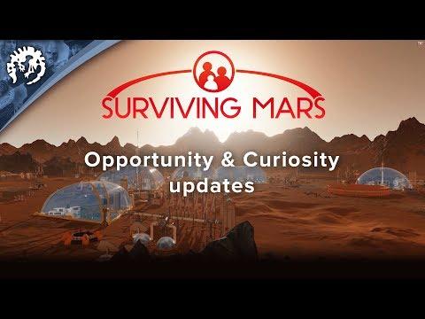 Surviving Mars - Opportunity & Curiosity updates