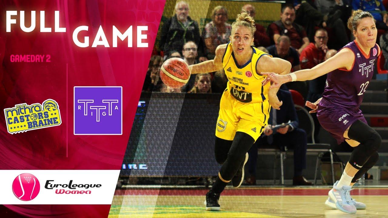 Castors Braine v TTT Riga - Full Game - EuroLeague Women 2019