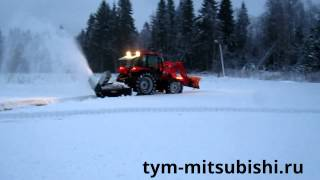 TYM T1003 s и снегоотбрасыватель TREJON OPTIMAL SB-225/2(ТИМ Трейд - официальный дилер американского концерна TYM Tractors. Сайт: http://tym-mitsubishi.ru/ Характреристики трактора:..., 2013-01-19T10:54:59.000Z)