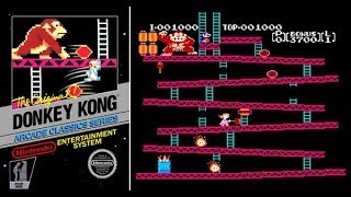 Donkey Kong (NES) Walkthrough Part 1 | NES - Nintendo Switch Online