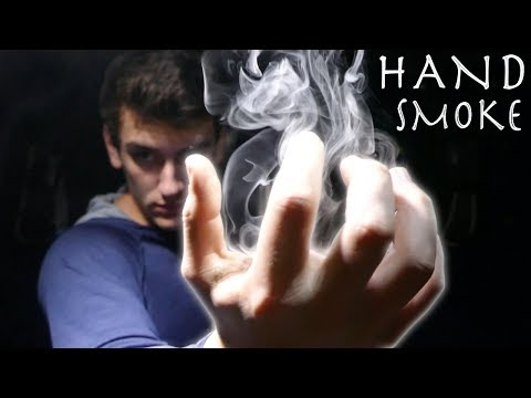 DIY Hand Fog Machine! - Amazing Smoke Magic Trick!!! (Cheap, Simple Build)