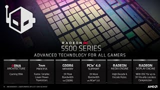 AMD Radeon RX 5500 'Navi 14' Graphics Card Aimed at Performance Segment