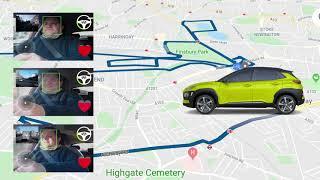 Matt Porter, The Gadget Man takes the Hyundai Drive Different Test in London