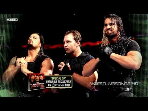 2012/2013: The Shield 1st WWE Theme Song -