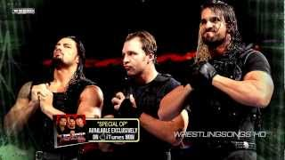 "2012/2013: The Shield 1st WWE Theme Song - ""Special Op"" + Download Link ᴴᴰ"