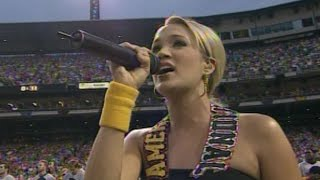 Video 2006 ASG: Carrie Underwood sings national anthem download MP3, 3GP, MP4, WEBM, AVI, FLV Mei 2018