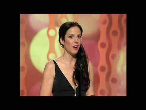 MaryLouise Parker Wins Best Actress TV Series Musical or Comedy  Golden Globes 2006