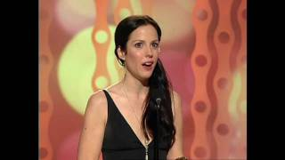 Mary-Louise Parker Wins Best Actress TV Series Musical or Comedy - Golden Globes 2006