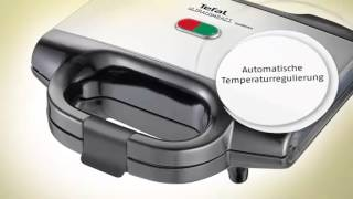 SM1552 Tefal Sandwich Toaster Ultracompact Edelstahl EAN3168430114074