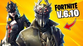 *NEW SKINS FILTERED* Update V.6.10 Changes - Fortnite: battle royale!!