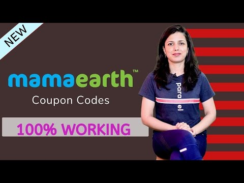 MamaEarth Coupons 2020 | 100% Working Promo Codes & Deals