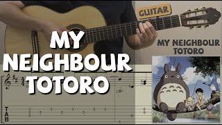 My Neighbour Totoro / となりのトトロ / 鄰家的龍貓 (Guitar)