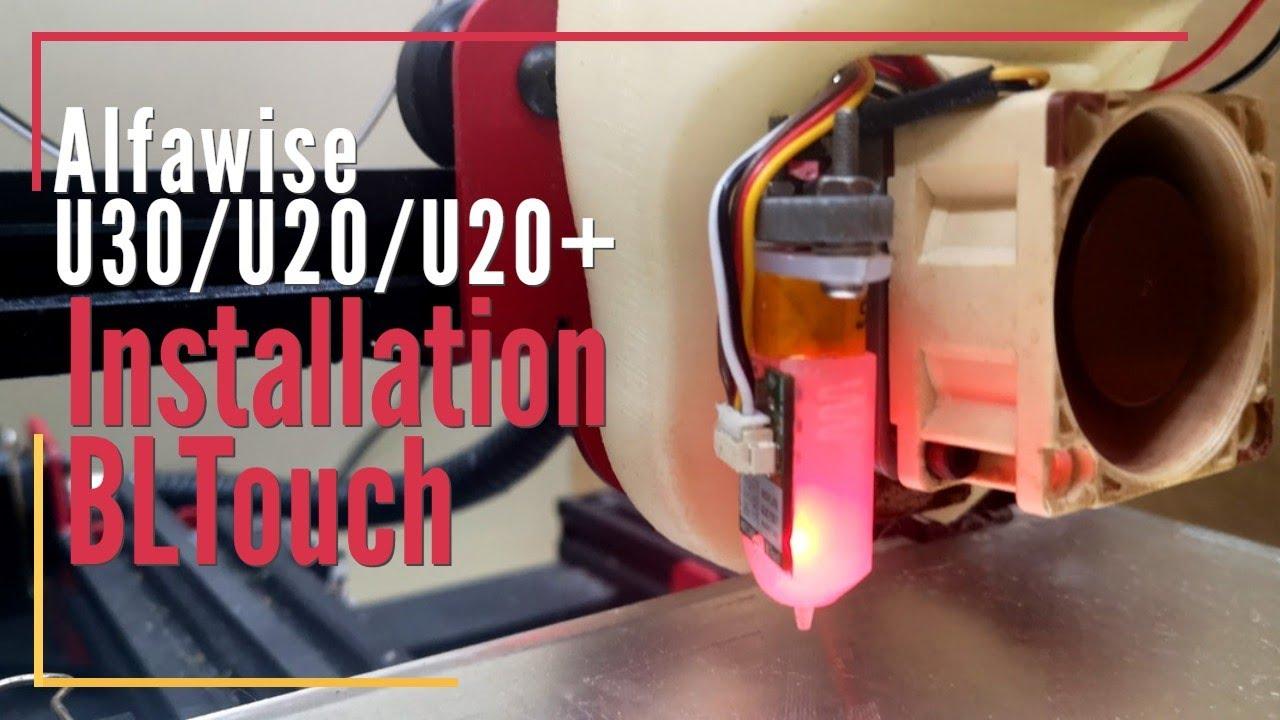 Installation d'un BLTouch sur une imprimante 3D Alfawise