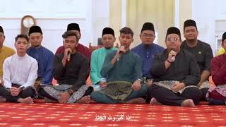 Cover images Takbir raya by izzal, adly dan adzrin