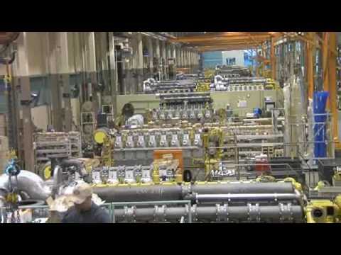 Caterpillar Marine Engine Manufacturing Facility in Lafayette, Indiana