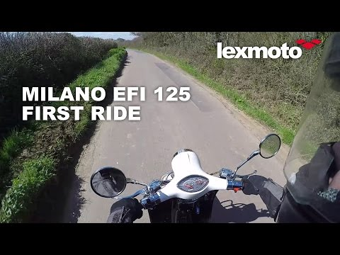 Lexmoto Milano 125cc EFI: First Ride