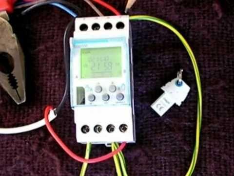 Pt 1 How to program a digital timer (Hager EG203E)  YouTube