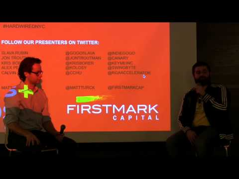 Slava Rubin, Indiegogo // Hardwired NYC // Dec 2013 (Hosted by FirstMark Capital)