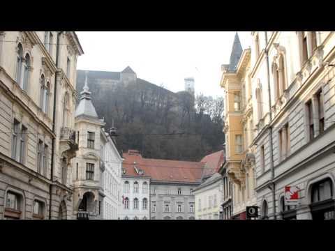 """Views of Ljubljana's """"Old Town"""" 02/26/2012"""