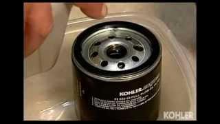 Kohler Engines Oil Change