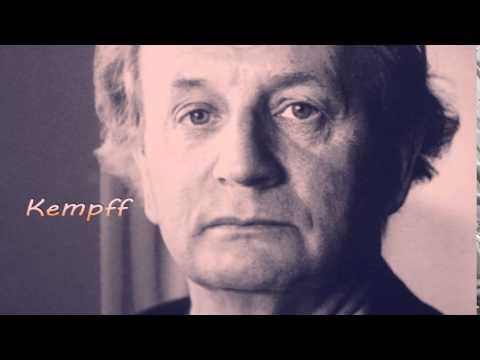 """KEMPFF, Beethoven Piano Sonata No.23 in F minor, op.57 """"Appassionata"""""""