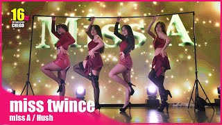 1-8 miss twince miss A / Hush 미쓰에이 dance cover in Japan【ちぇご1…