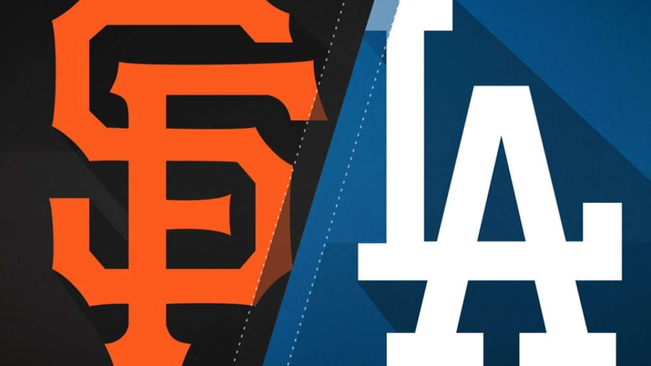 Giants lose to Clayton Kershaw, Dodgers  bring on the final week