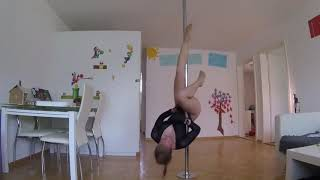 Toe tap core pole play Yoga and Fitness with Rhyanna Watson