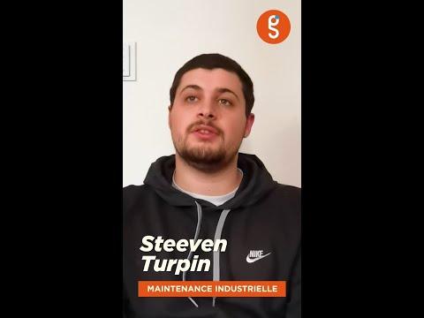 Découvrez Steeven, étudiant en maintenance industrielle au sein de Génération Saint-Gobain.