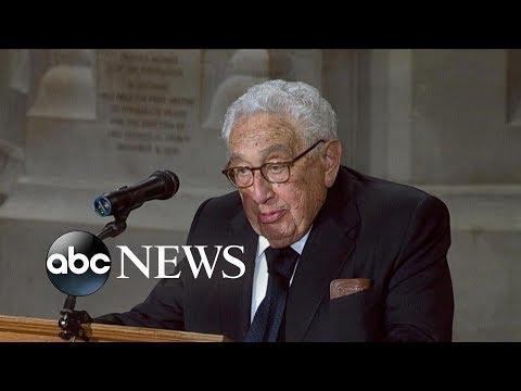 Dr. Henry A. Kissinger tribute to John McCain