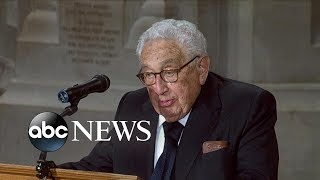 Dr. Henry A. Kissinger tribute to John McCain