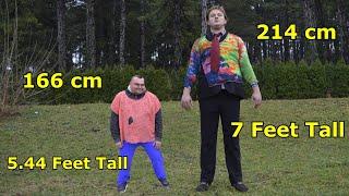 Problemi visokih i niskih ljudi