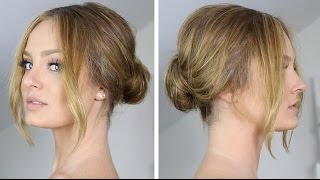 Easy & Chic Low Chignon/Bun Hair Tutorial