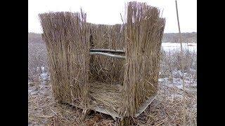 Обзор конструкций шалашей для охоты с подсадной уткой (Будни охотника и рыбака)