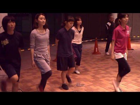 20150605阿呆連アーケード毎週金曜日公開練習始まる阿波踊り