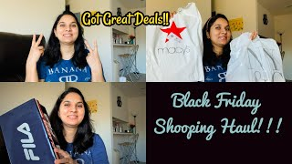 BLACK FRIDAY SHOPPING HAUL!!! ~ What we got On This Thanksgiving ~ Indian NRI mom ~ Hope you Relate