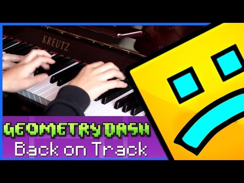 Back on Track - Geometry Dash Piano Cover ( 4 Hands ) Sheet Music