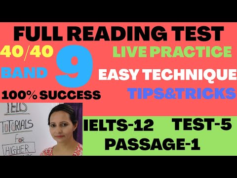 IELTS ACADEMIC READING -whats the purpose of gaining knowledge passage 3 IELTS 12