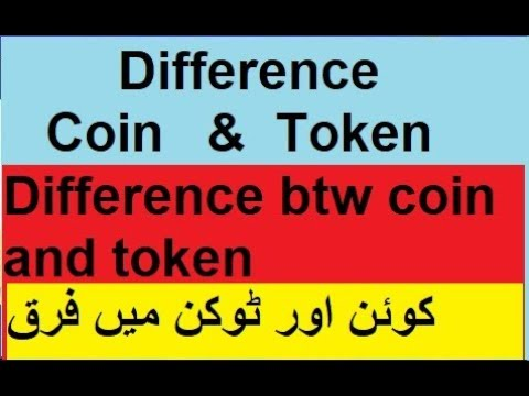 Difference between utility token and cryptocurrency