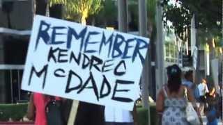 McDade family protest Pasadena NAACP Awards Dinner