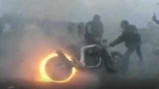 Смотрите как Дебилы убивают мотоцикл. Ужас. See how Morons kill motorcycle. Horror.