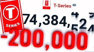 How T-Series LOST 200,000 Subscribers (ANSWERED!)