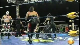 AAA - Chessman and Pyscho Circus vs. La Secta, 2009/01/18 [MEX ATÓMICOS]