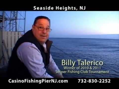 Casino Fishing Pier With Billy Talerico In Seaside Heights Boardwalk NJ