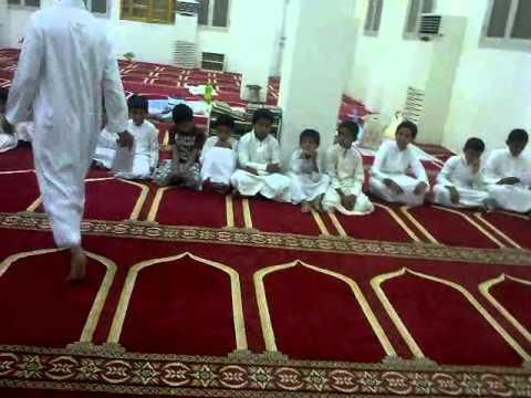 طلاب تحفيظ القران بمدينة القحمه العرض الثاني