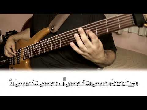 Stream of consciousness (Dream Theater) - bass cover (sheet music included)