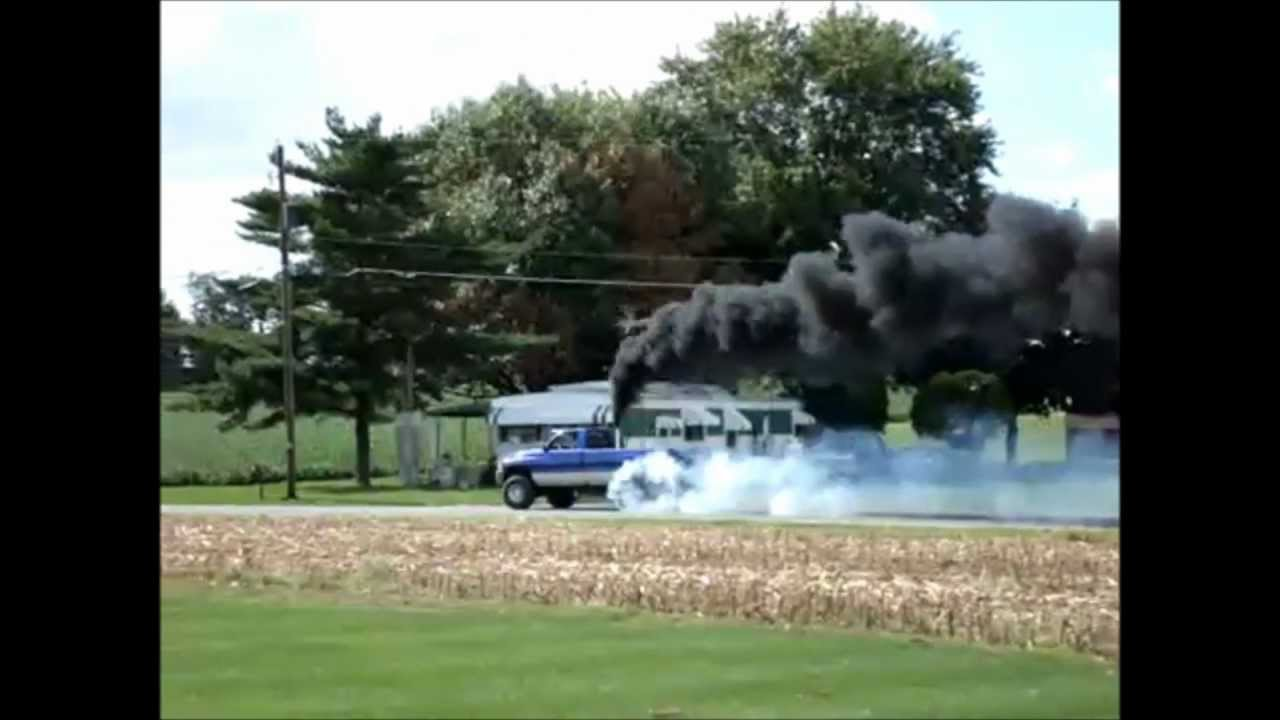 DIESEL BURNOUTS Rollin Coal Compilation  YouTube